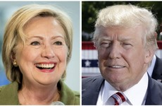 Latest poll puts Clinton at a double-digit lead over Trump