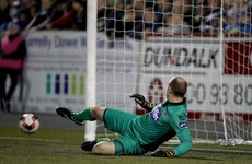 This dodgy penalty decision has put Dundalk's title party on ice