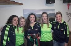 Cora Staunton scored 2-11 today as she won her 15th Connacht club title