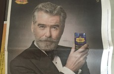Pierce Brosnan has found himself in the middle of a bizarre controversy in India