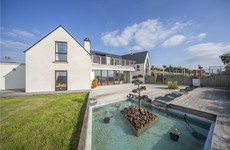 Go swimming with a view at this luxury residence in Mayo