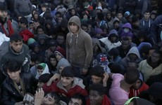 Thousands of migrants expected to remain at demolished Calais camp