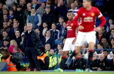 Mourinho challenges his players to show they are 'men' in Manchester derby