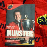 Anthony Foley commemorative programmes to be reprinted by Munster