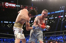 Frampton set for Vegas debut in January rematch with Santa Cruz
