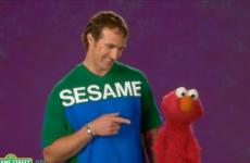 Meet Elmo's new best friend, New Orleans Saints quarterback Drew Brees