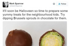 This has to be the most evil prank you can play on trick or treaters this year