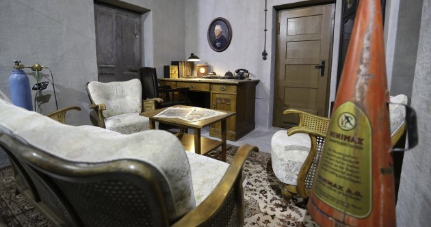 Replica of bunker where Hitler spent his final days goes on display in Berlin