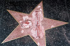 Man who defaced Trump's Hollywood star with a sledgehammer arrested