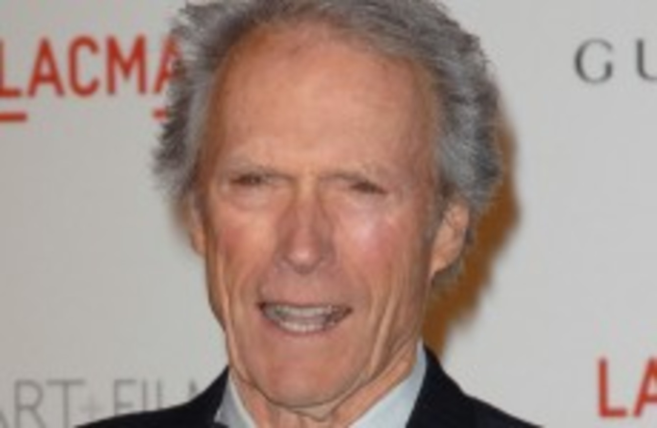 Clint eastwood accepts inaugural irish film award the - David s salon eastwood ...