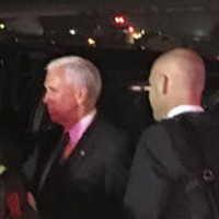Mike Pence's plane slides off runway in New York