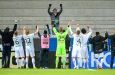 Struggling Swedish team celebrate rare win with their only travelling supporter
