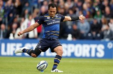 Nacewa is the only back to retain his place as Leinster prepare for Connacht