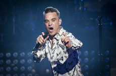 Robbie Williams just announced a massive Aviva Stadium gig for next June