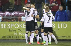Dundalk end season on a high with easy win over Galway