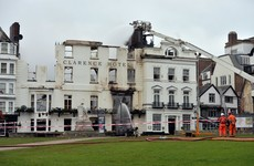 'England's oldest hotel' on the brink of collapse after two-day blaze
