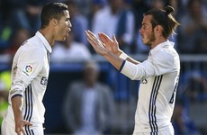 Ronaldo ends tough spell in front of goal with hat-trick against Alaves