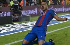 Rafinha overhead kick sees Barcelona past basement boys Granada