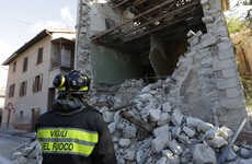 14th century basilica reduced to rubble after Italy's most powerful quake in 36 years