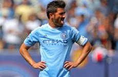David Villa dreaming of Spain recall
