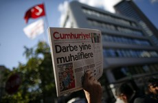 'We will not surrender': Outrage as editor of Turkish newspaper arrested