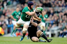 Jerome Kaino surprised 'spearhead' Sean O'Brien not involved with Ireland