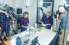 Paul Hollywood is filming his baking show around Dublin and it already looks tasty