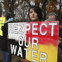 Over a million people checked in on Facebook in solidarity with Indian Reservation protests