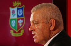 Gatland: Perform against the All Blacks and I'll put a big tick beside an Irish player's name