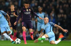 Pep Guardiola marvels at Pablo Zabaleta's Neymar heroics