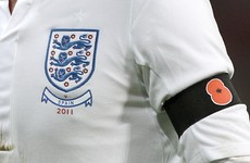 England plan to wear poppies for Scotland clash despite Fifa ban