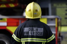 Dublin fire crews express solidarity with their 'brothers in blue'