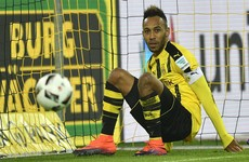 Dortmund suspend star striker Aubameyang just before kick-off over 'internal' issue