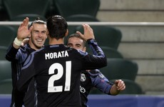 Bale scores Real Madrid's fastest-ever Champions League goal in 6-goal thriller