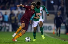 Cork City undone late on by Roma in Uefa Youth League