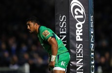 Bundee Aki returns to Connacht starting XV for Dragons clash
