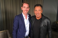 Bruce Springsteen will be on tomorrow night's Late Late