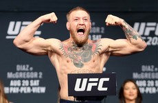 Video: Eddie Alvarez and Conor McGregor weigh in for UFC 205