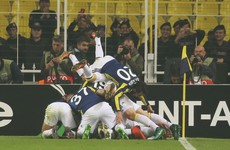Sorry Man United downed by Fenerbahce as Pogba limps off