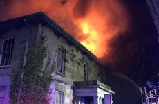 Gardaí investigating fire at landmark manor owned by JP McManus's brother