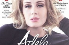 Adele is as lazy about shaving her legs as you are... it's The Dredge