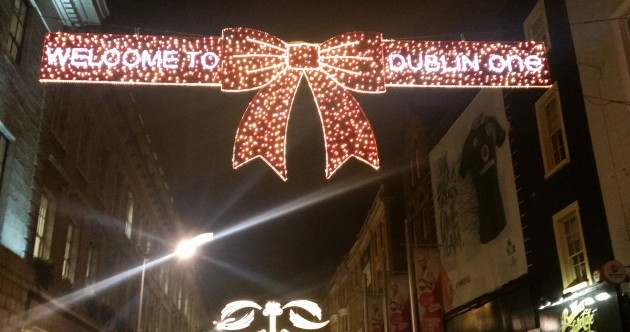 All lit up - a sneak preview of Dublin's Christmas lightshow