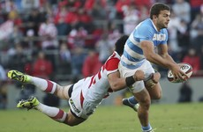 Argentina turn on the style in seven-try rout of Japan