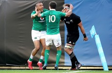 As it happened: Ireland v New Zealand, November International