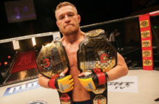 How a spectacular ending to his last lightweight fight earned Conor McGregor a place in the UFC