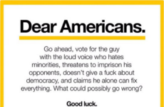 A note to America from 'the people of Germany' is going insanely viral