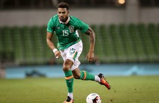 Ireland defender Christie 'gutted' as injury rules him out for at least three months