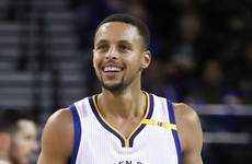 Watch: Steph Curry sinks incredible 13 three-pointers to break NBA record