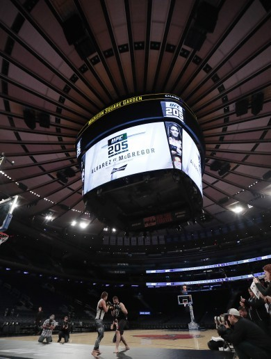 Letter from New York: UFC's Madison Square Garden debut trumped by US election