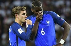 Antoine Griezmann admits his desire to play alongside United's Paul Pogba